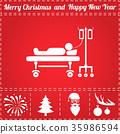 Patient Icon Vector 35986594
