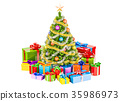 Christmas and New Year holidays concept 35986973