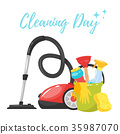 cleaning service tools banner 35987070