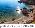 Sea bay in Zingaro Park, Sicily, Italy 35987307