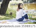 閱讀 女子 女性 35989175