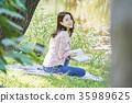 閱讀 女子 女性 35989625