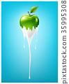 蘋果 綠色 綠 35995308