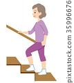 樓梯 腳步 步驟 35996676