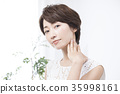 여성, 여자, 미용 35998161