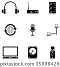 computer icon set 35998429