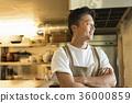 요리사 중동 남성 36000859