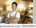 요리사 중동 남성 36000864