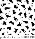 可爱的小狗图案 36001190