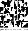 可爱的小狗图案 36001200