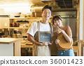 레스토랑 요리사와 웨이터 36001423