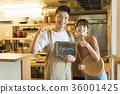 레스토랑 요리사와 웨이터 36001425