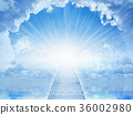 Light from heaven, staircase to heaven 36002980