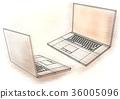 笔记本 电脑 便携电脑 36005096