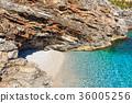 Sea bay in Zingaro Park, Sicily, Italy 36005256