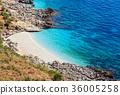 Sea bay in Zingaro Park, Sicily, Italy 36005258
