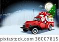 เวกเตอร์,ซานต้า,คริสต์มาส 36007815