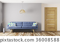 Living room interior 3d rendering 36008588
