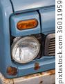 前燈 車 交通工具 36011959
