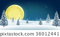 winter christmas landscape 36012441