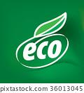 eco, logo, ecology 36013045