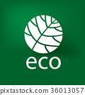 eco, logo, ecology 36013057