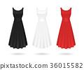 3d, vector, fashion 36015582