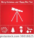 Telescope Icon Vector 36016625