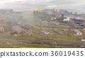 Aerial view of industrial steel plant. Aerial 36019435