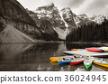 Moraine Lake boat 36024945