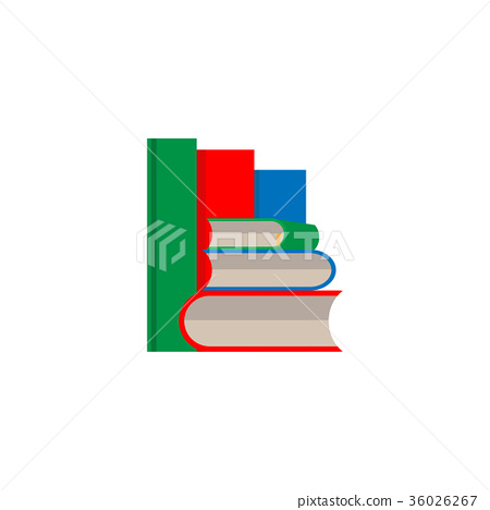 book set vector on white background 36026267