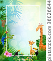animal vectors summer backgrounds 36026644