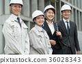 business man, blue collar worker, laborer 36028343