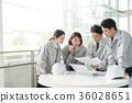 blue collar worker, laborer, a meeting 36028651