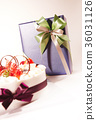 선물, 케이크, 딸기 36031126
