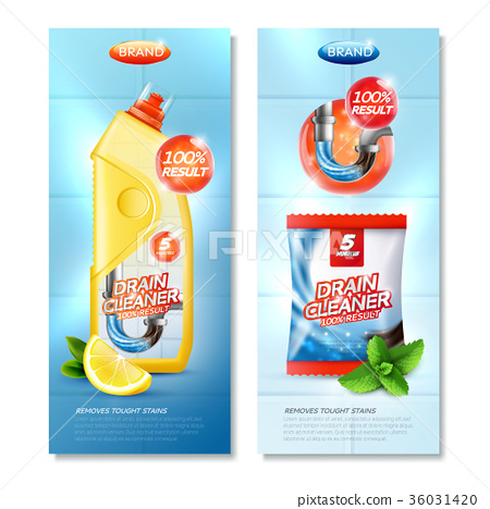 Drain Cleaner Vertical Posters 36031420