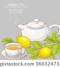 leaf, citrus, lemon 36032473