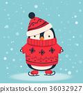 企鵝 鳥兒 鳥 36032927