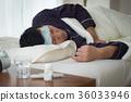 ยาแก้ไข้ตัวผู้ป่วยที่ไม่แข็งแรง 36033946