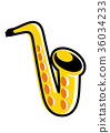 Saxophone 36034233