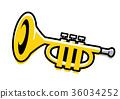 喇叭 铜管乐器 器具 36034252