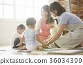幼兒園老師和孩子們玩 36034399