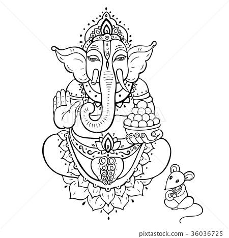 Ganapati. Lord Ganesha 36036725