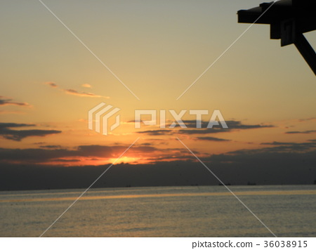 日落 夕阳 暮色 36038915