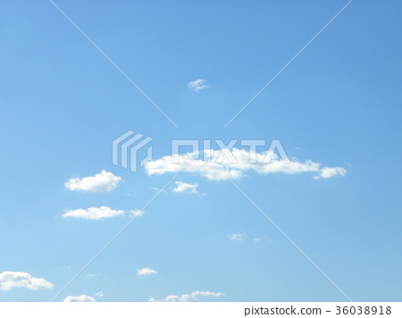 푸른, 가을, 흰색 36038918