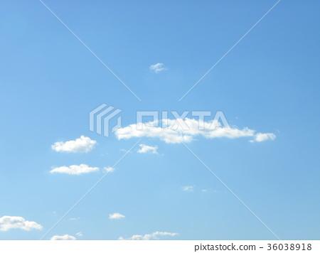blue sky, blue, white cloud 36038918