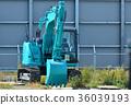 重型機械 鏟斗機 挖掘者 36039193