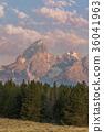sunrise, Grand, Teton 36041963
