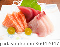 生魚片 刺身 日本料理 36042047