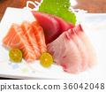 生魚片 刺身 日本料理 36042048
